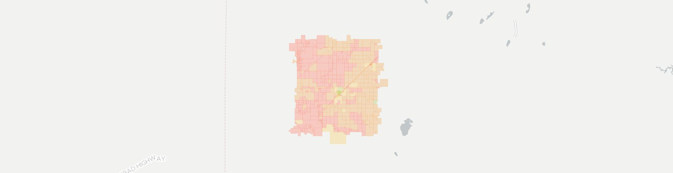 Seagraves Internet Competition Map. Click for interactive map.