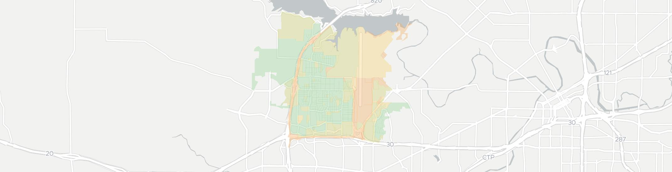 White Settlement Internet Competition Map. Click for interactive map.