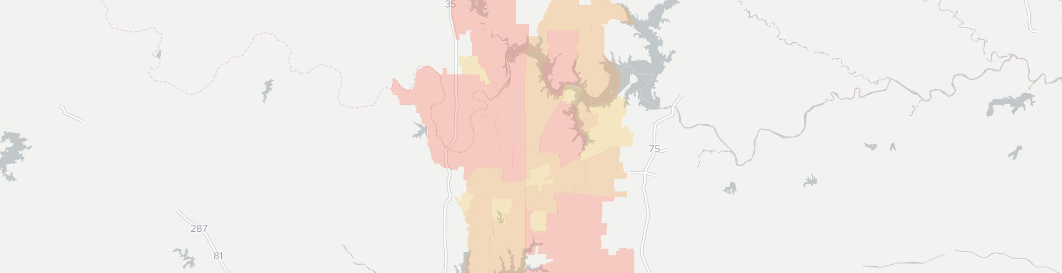 Whitesboro Internet Competition Map. Click for interactive map.