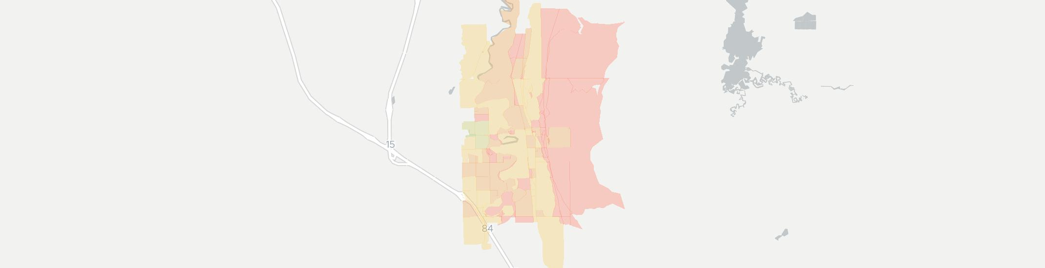Deweyville Internet Competition Map. Click for interactive map.