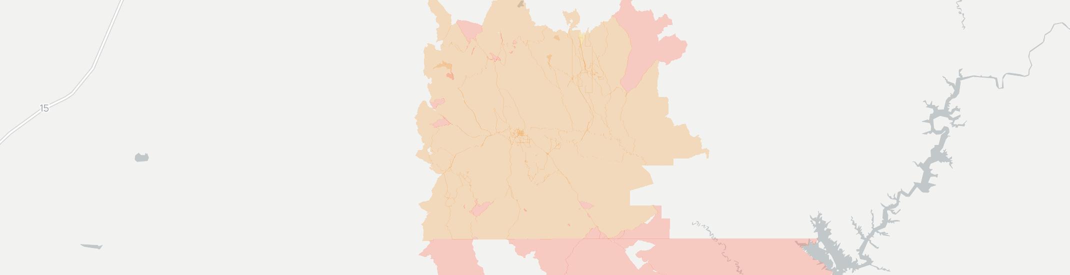 Escalante Internet Competition Map. Click for interactive map.