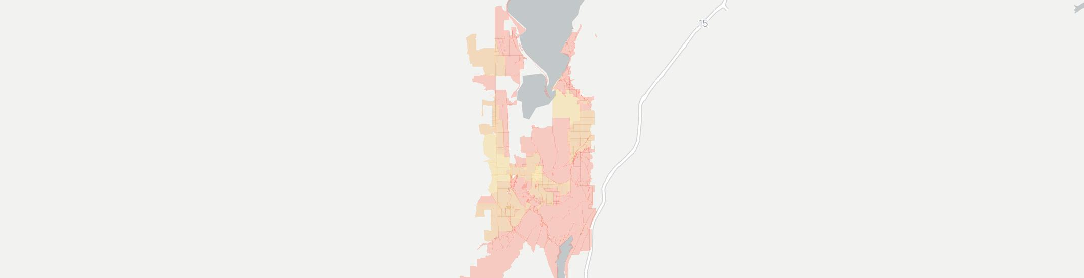 Goshen Internet Competition Map. Click for interactive map.