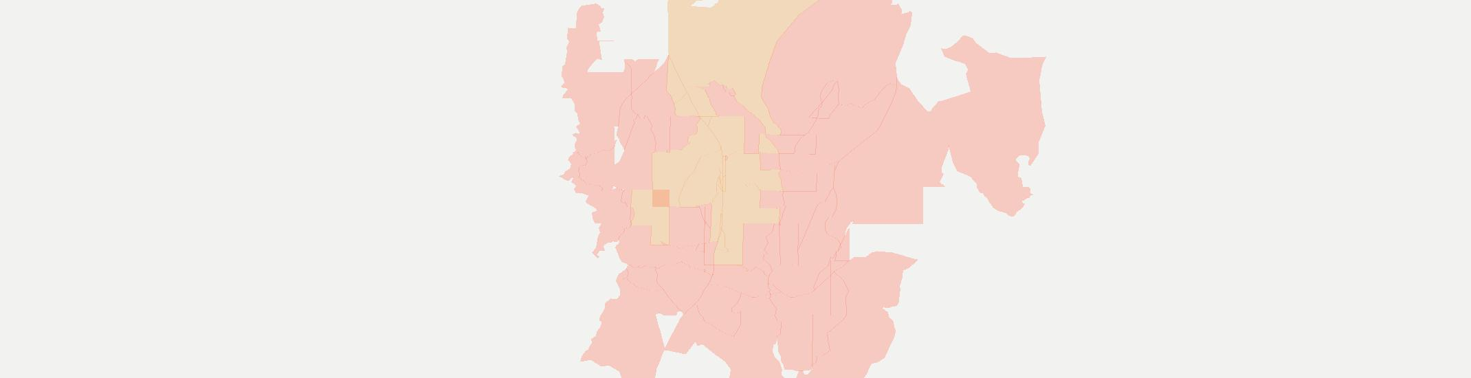 White Mesa Internet Competition Map. Click for interactive map.