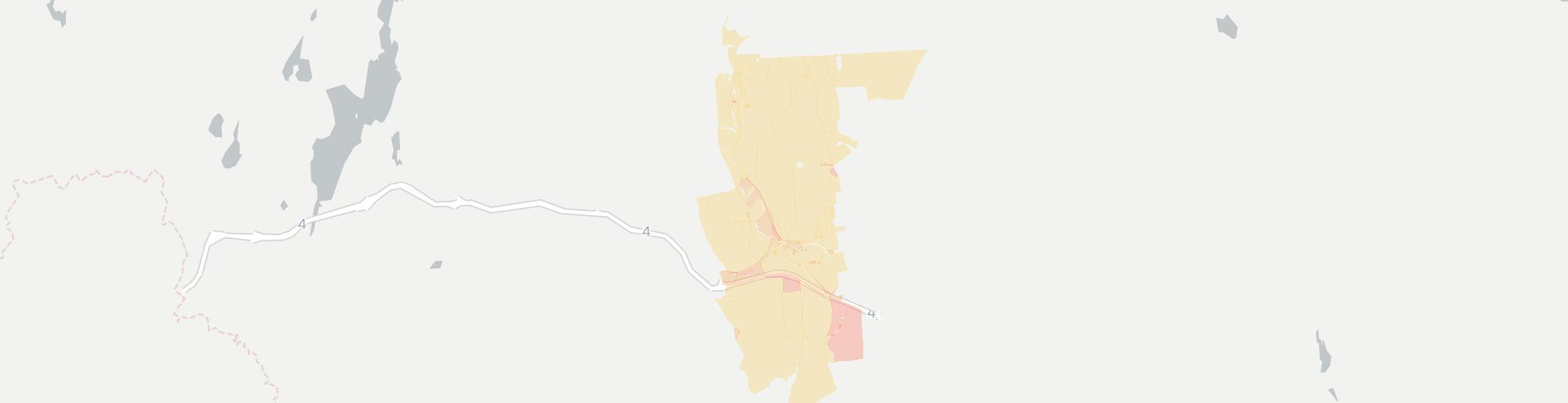 Center Rutland Internet Competition Map. Click for interactive map.