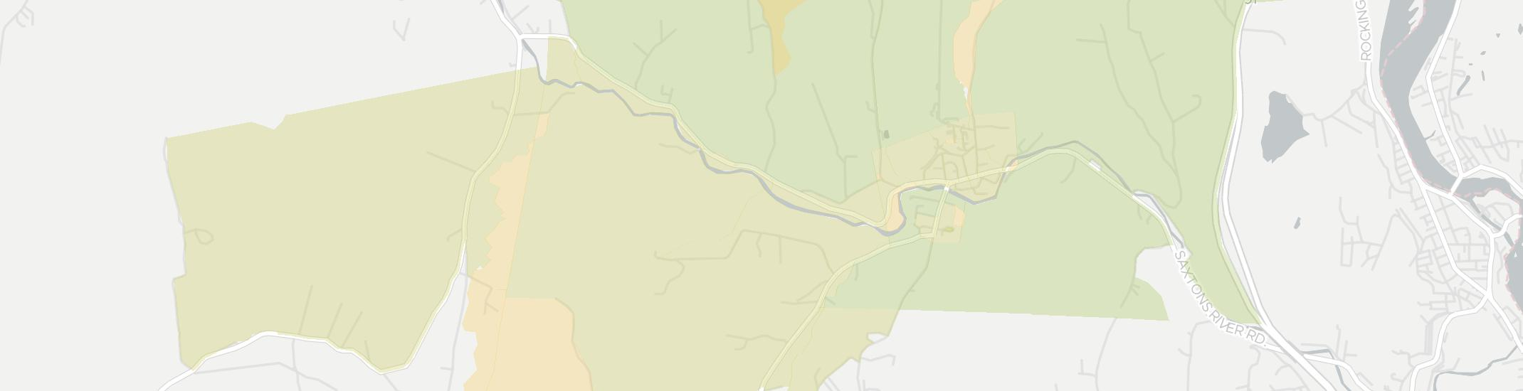 Saxtons River Internet Competition Map. Click for interactive map.