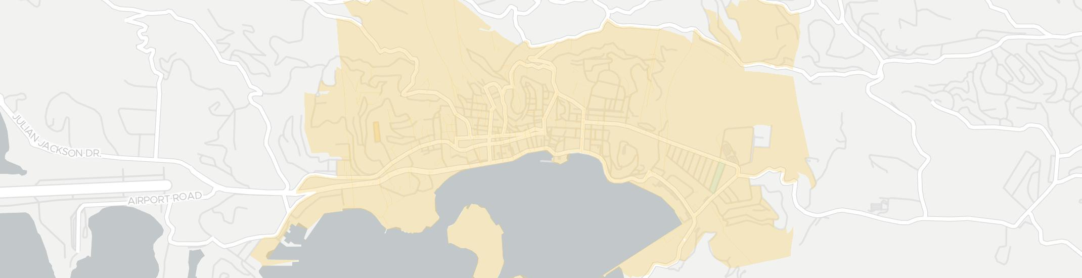 Charlotte Amalie Internet Competition Map. Click for interactive map.