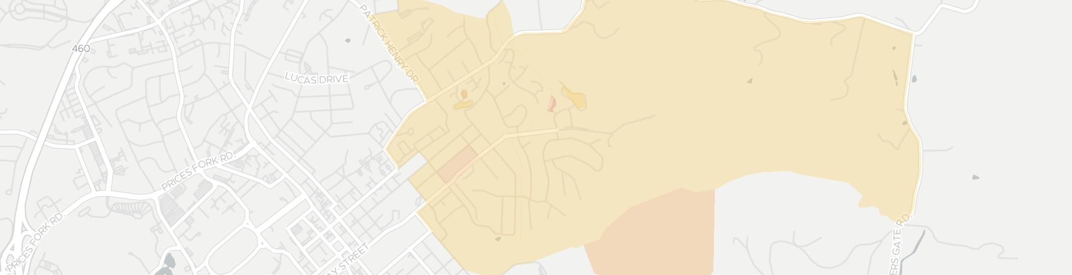 Alleghany Internet Competition Map. Click for interactive map.