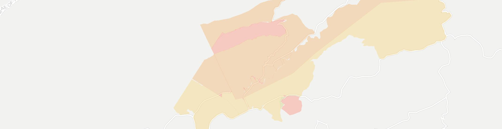 Broadford Internet Competition Map. Click for interactive map.