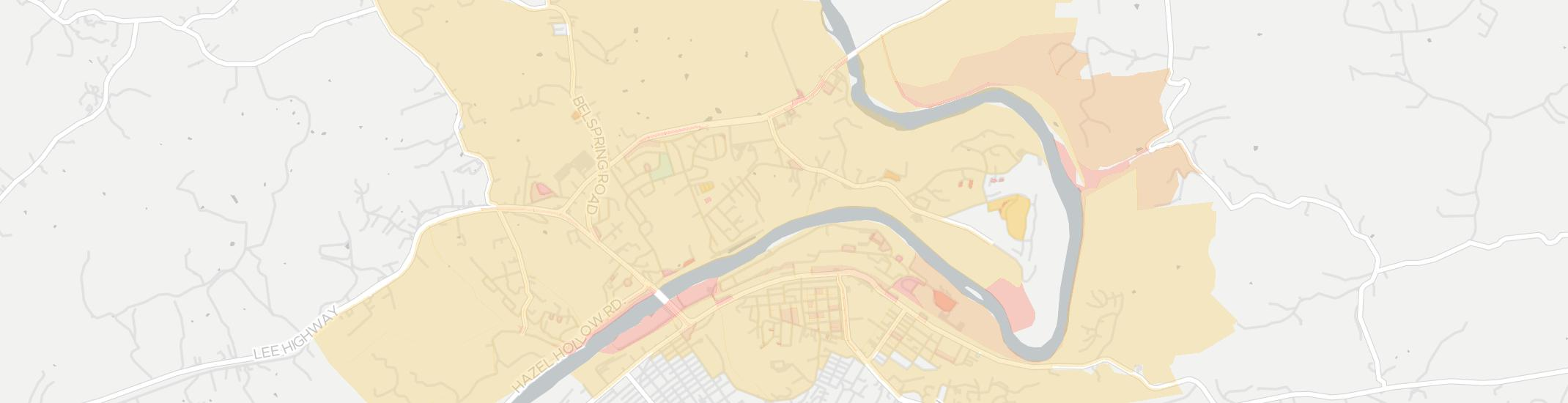 Fairlawn Internet Competition Map. Click for interactive map.