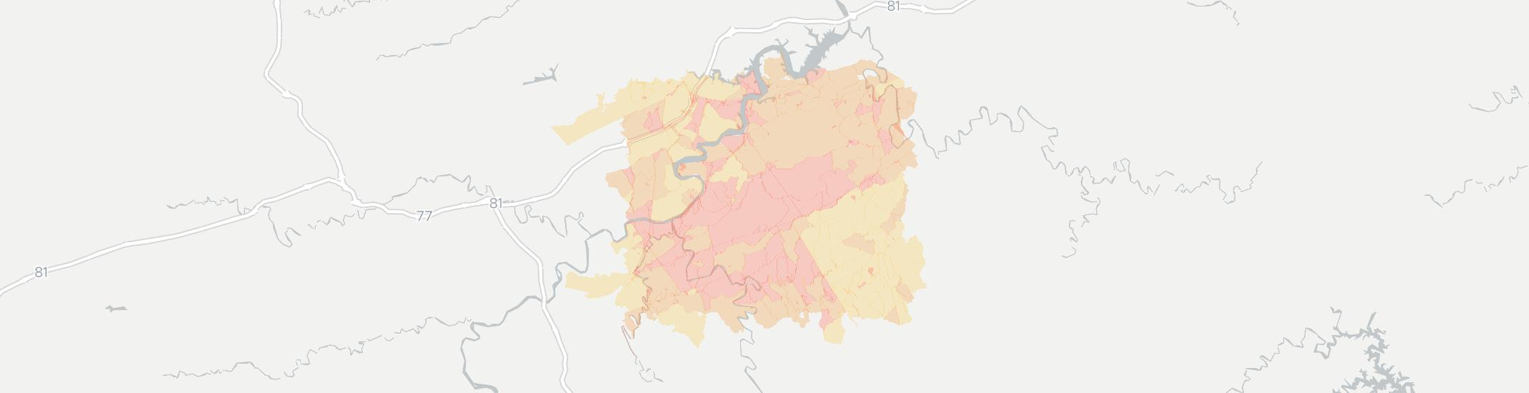 Hiwassee Internet Competition Map. Click for interactive map.