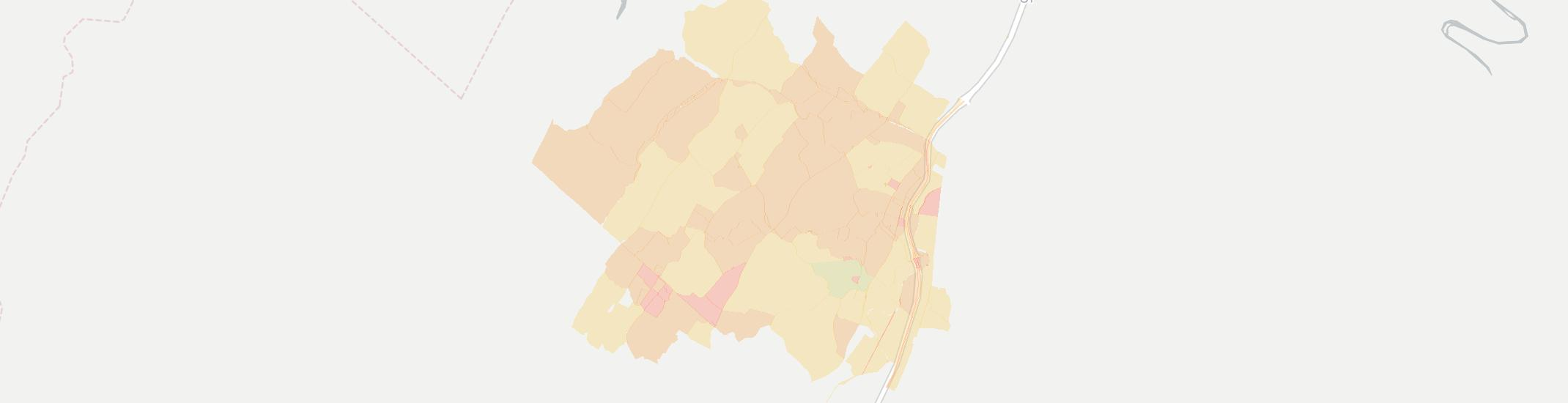 Quicksburg Internet Competition Map. Click for interactive map.