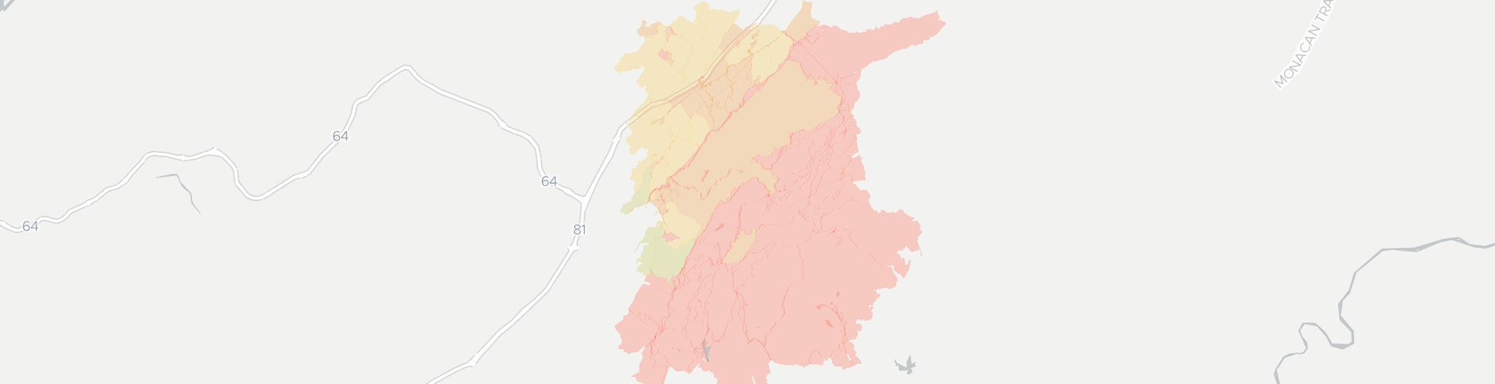 Vesuvius Internet Competition Map. Click for interactive map.