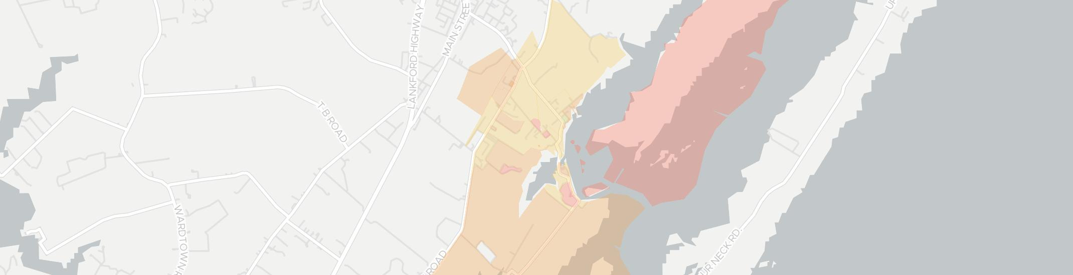 Willis Wharf Internet Competition Map. Click for interactive map.
