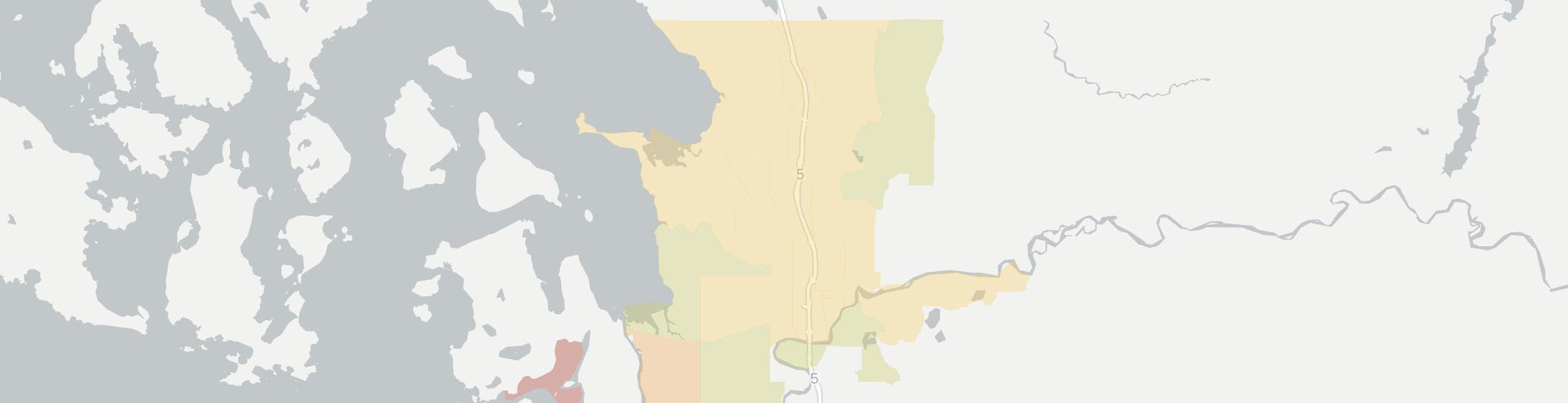 Burlington Internet Competition Map. Click for interactive map.