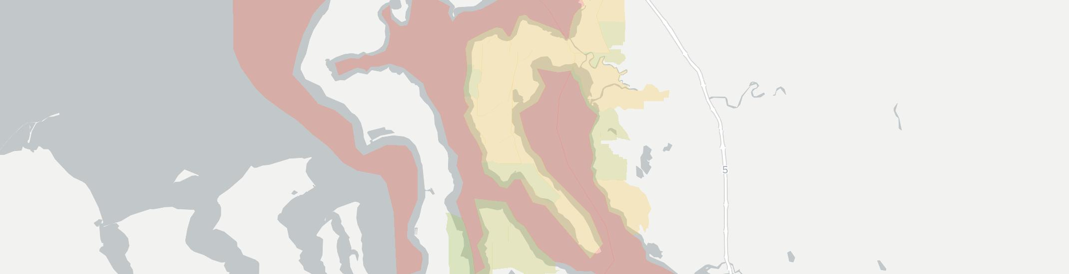 Camano Island Internet Competition Map. Click for interactive map.
