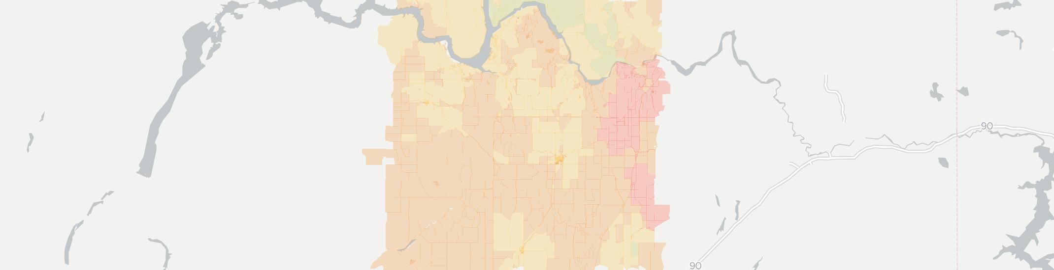 Davenport Washington Map.Internet In Davenport Wa See All 11 Internet Providers