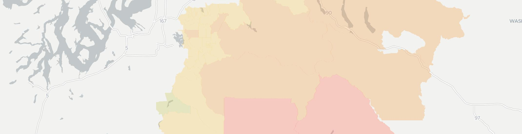 Enumclaw Internet Competition Map. Click for interactive map.