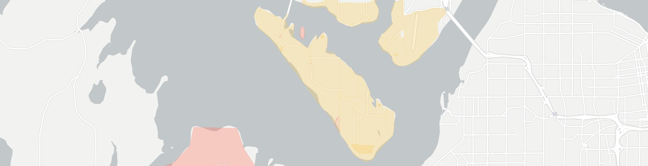 Fox Island Internet Competition Map. Click for interactive map.