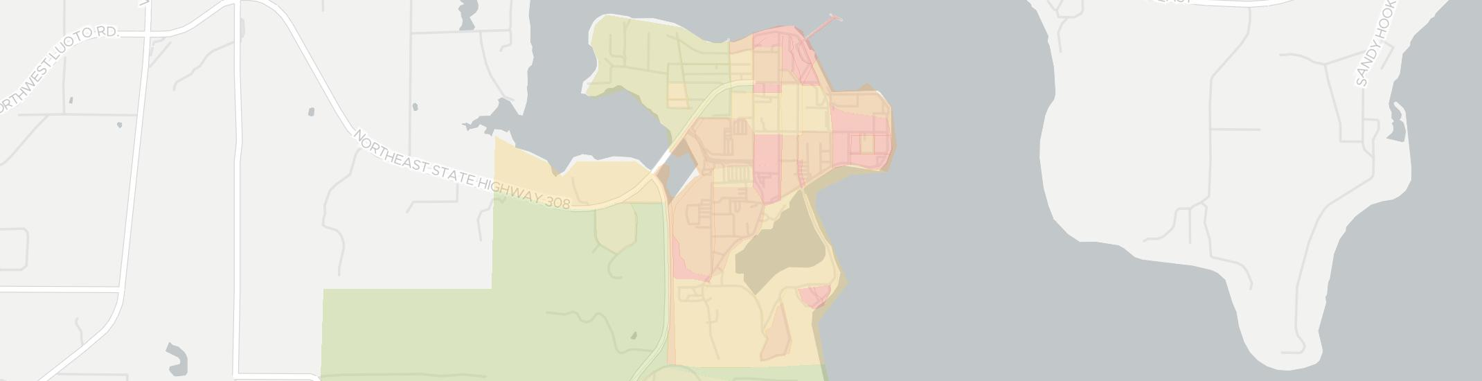Keyport Internet Competition Map. Click for interactive map.