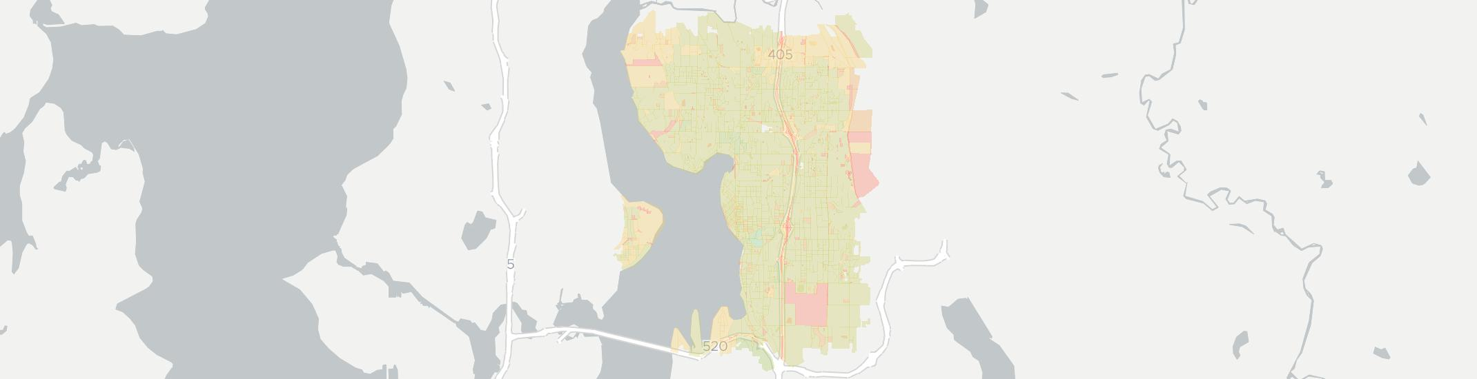 Kirkland Internet Competition Map. Click for interactive map.
