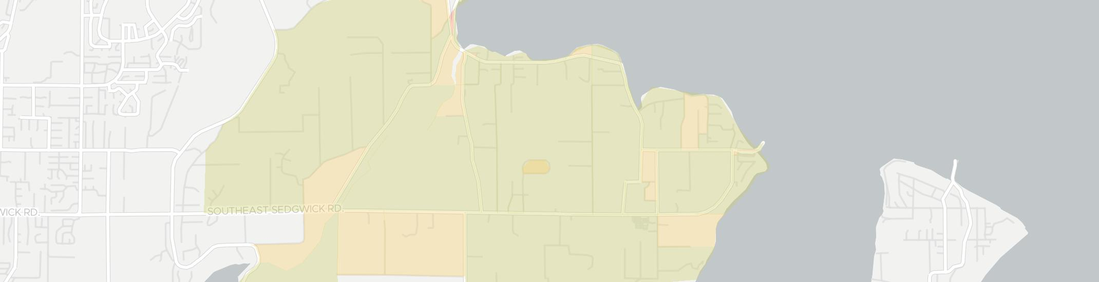 Southworth Internet Competition Map. Click for interactive map.
