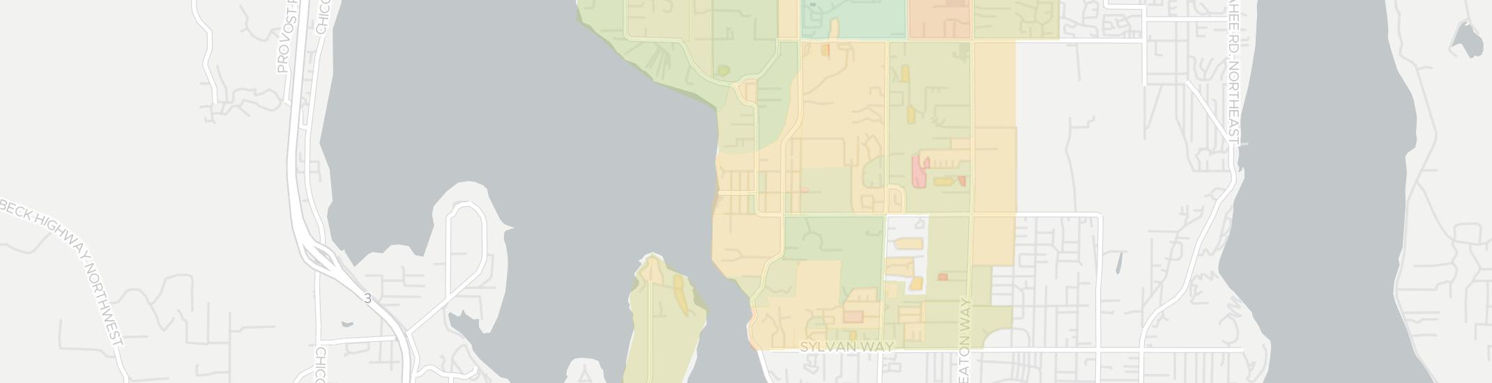 Tracyton Internet Competition Map. Click for interactive map.