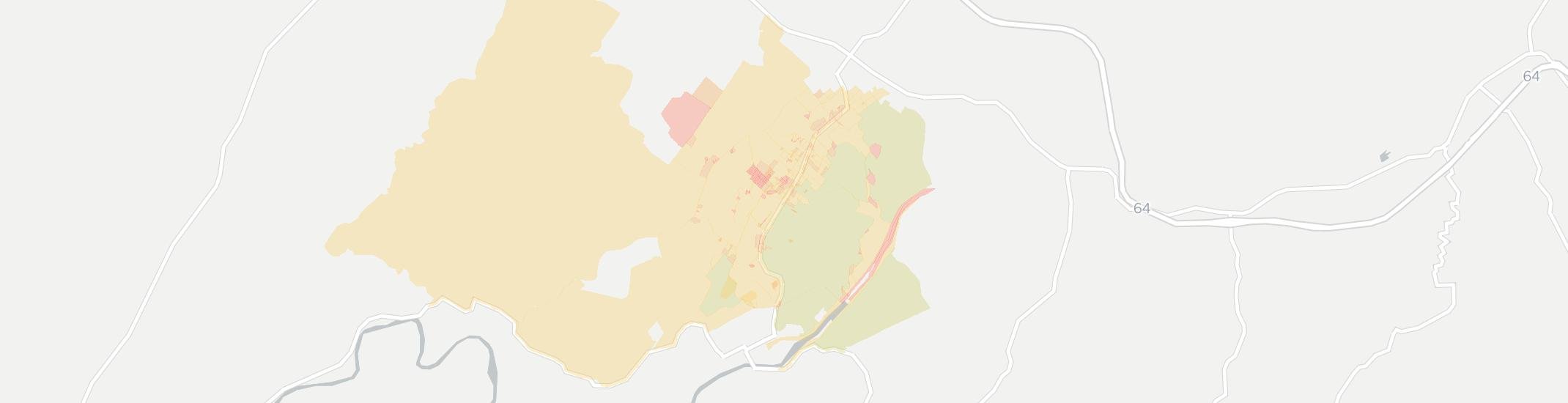 Fairlea Internet Competition Map. Click for interactive map.