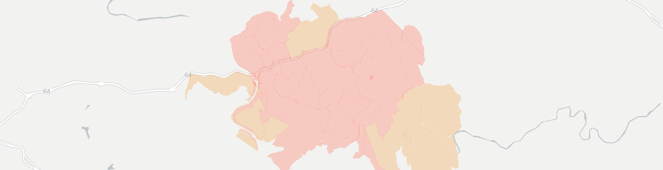 Sandstone Internet Competition Map. Click for interactive map.