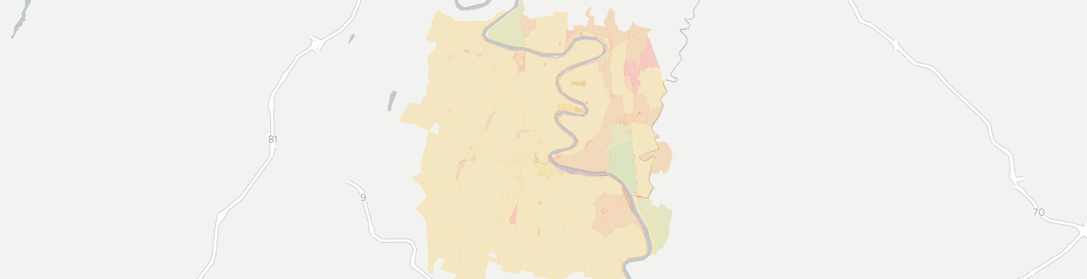 Shepherdstown Internet Competition Map. Click for interactive map.