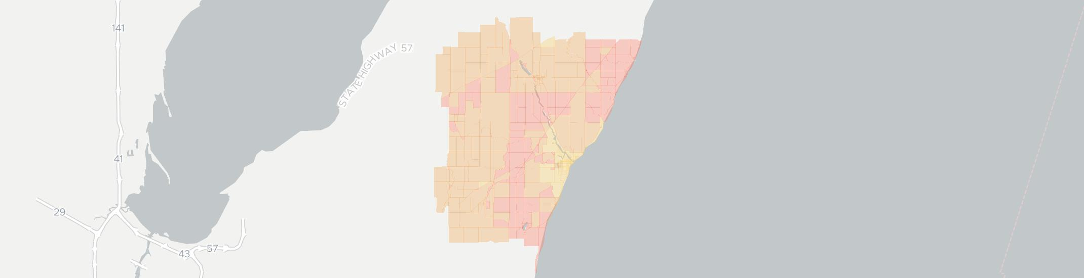 Algoma Internet Competition Map. Click for interactive map.