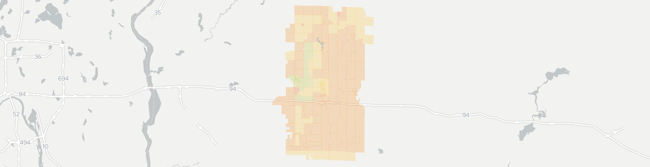 Baldwin Internet Competition Map. Click for interactive map.