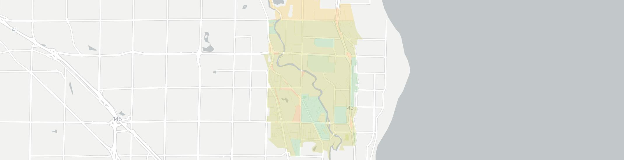 River Hills Internet Competition Map. Click for interactive map.