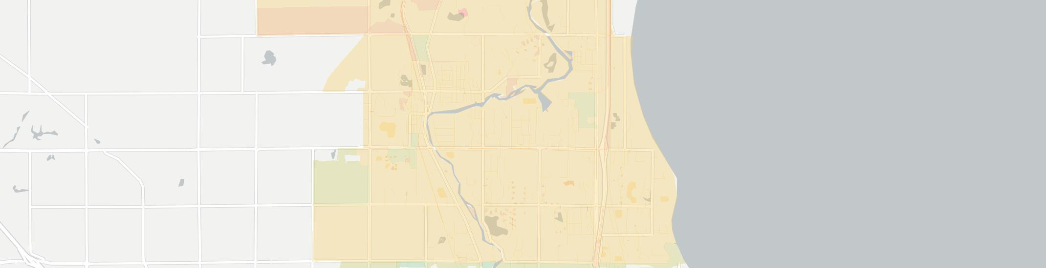 Thiensville Internet Competition Map. Click for interactive map.