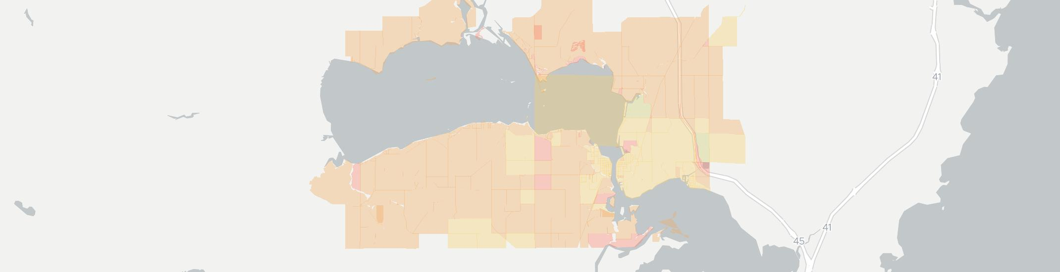 Winneconne Internet Competition Map. Click for interactive map.