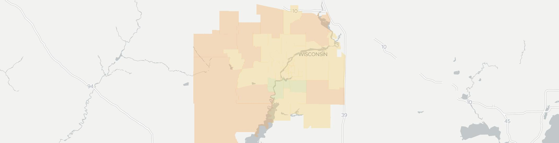 Wisconsin Rapids Internet Competition Map. Click for interactive map.