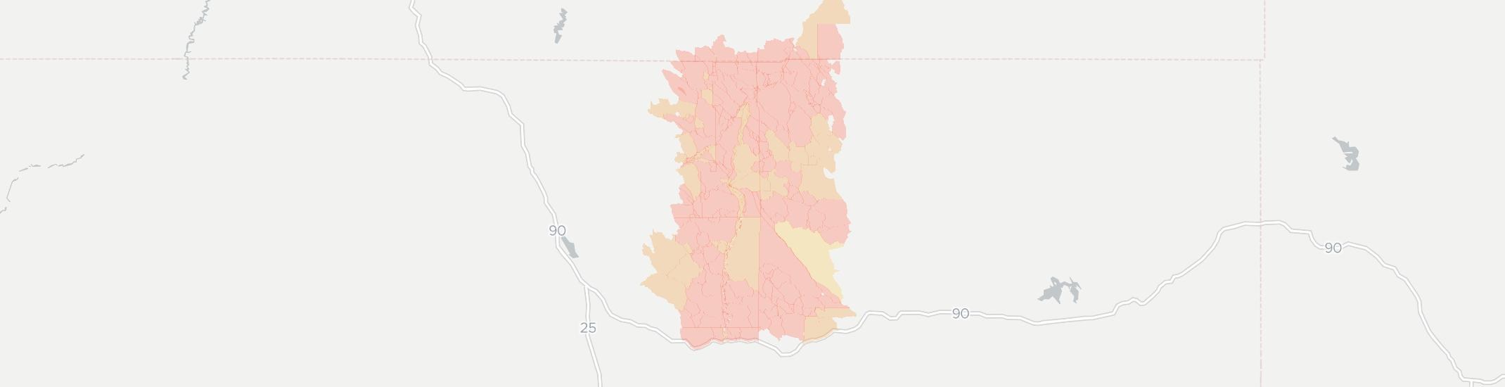 Arvada Internet Competition Map. Click for interactive map.