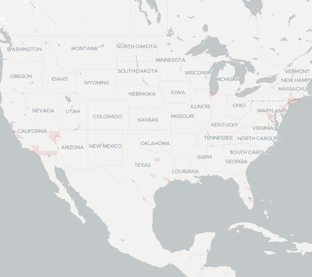 365 Data Centers Availability Map. Click for interactive map.