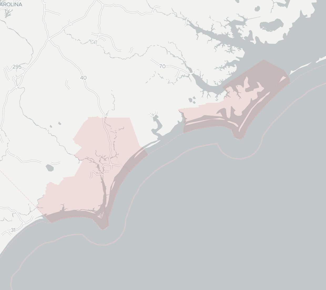 CloudWyze Availability Map. Click for interactive map.