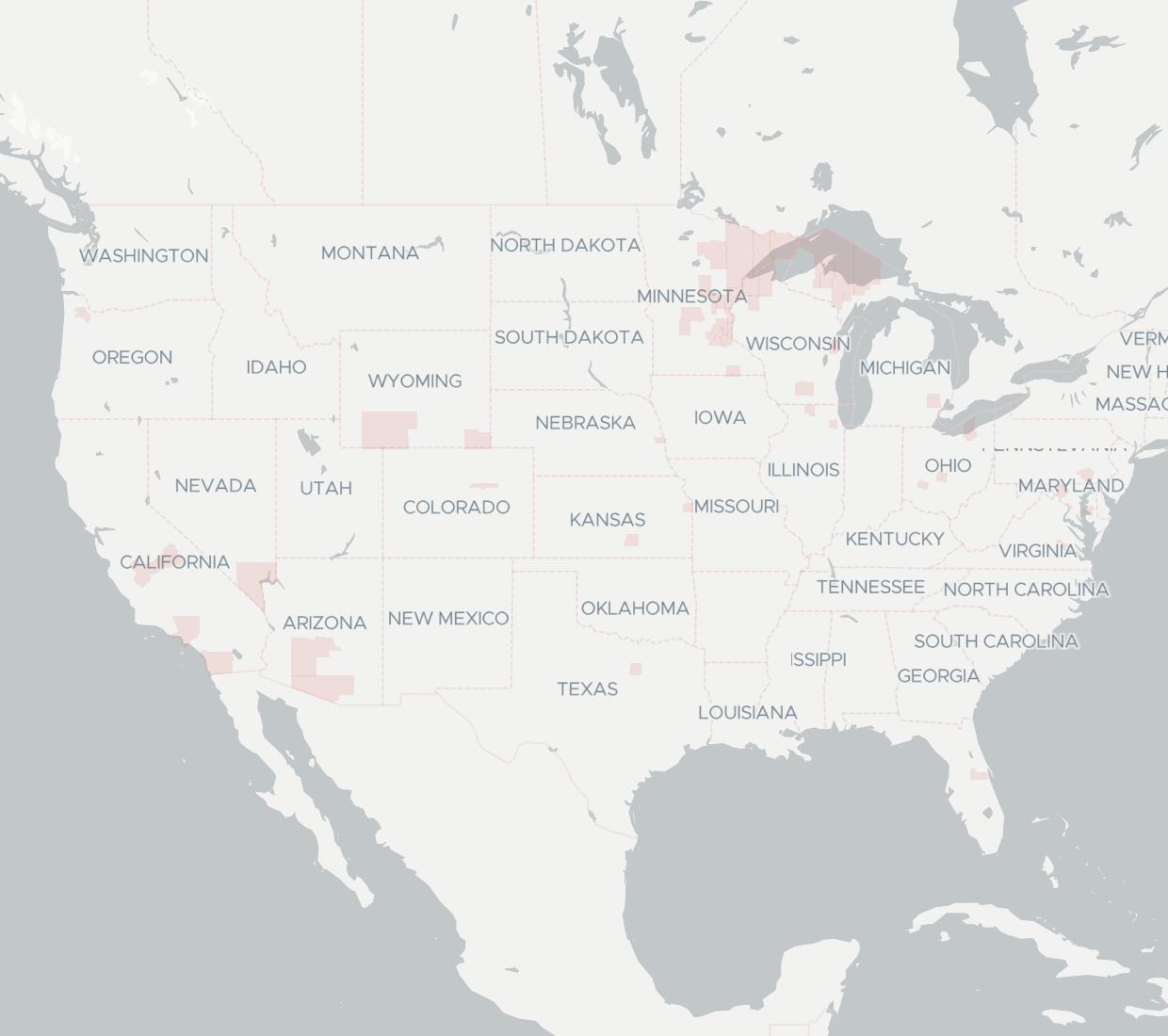 Compudyne Availability Map. Click for interactive map.