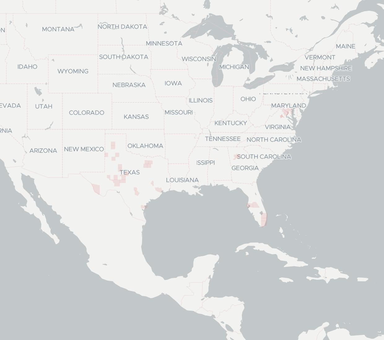 FiberLight Availability Map. Click for interactive map.