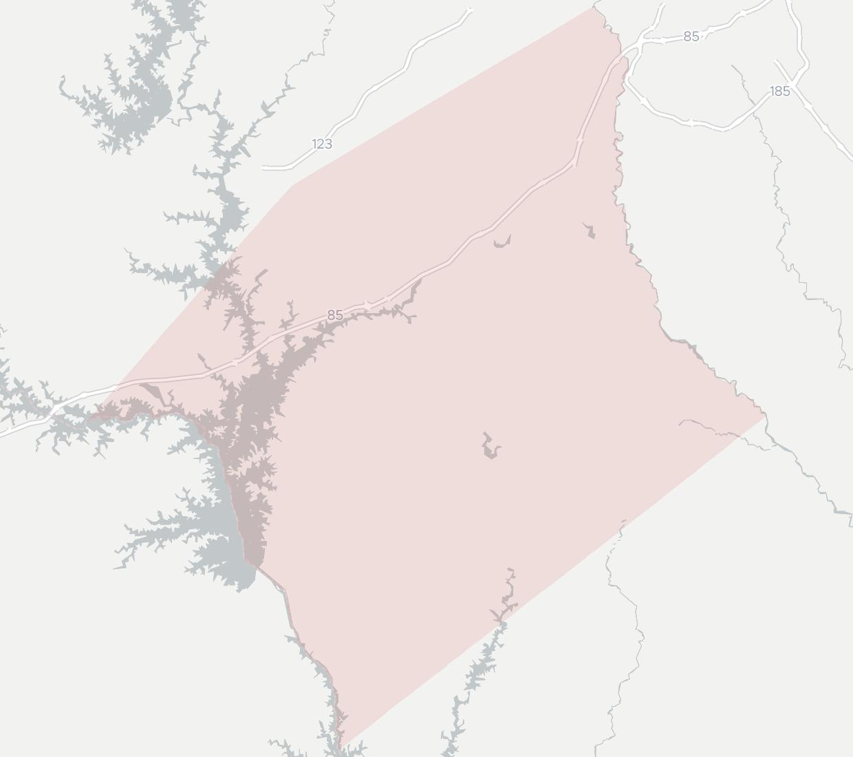 Fiberlink Telecommuncations Availability Map. Click for interactive map.