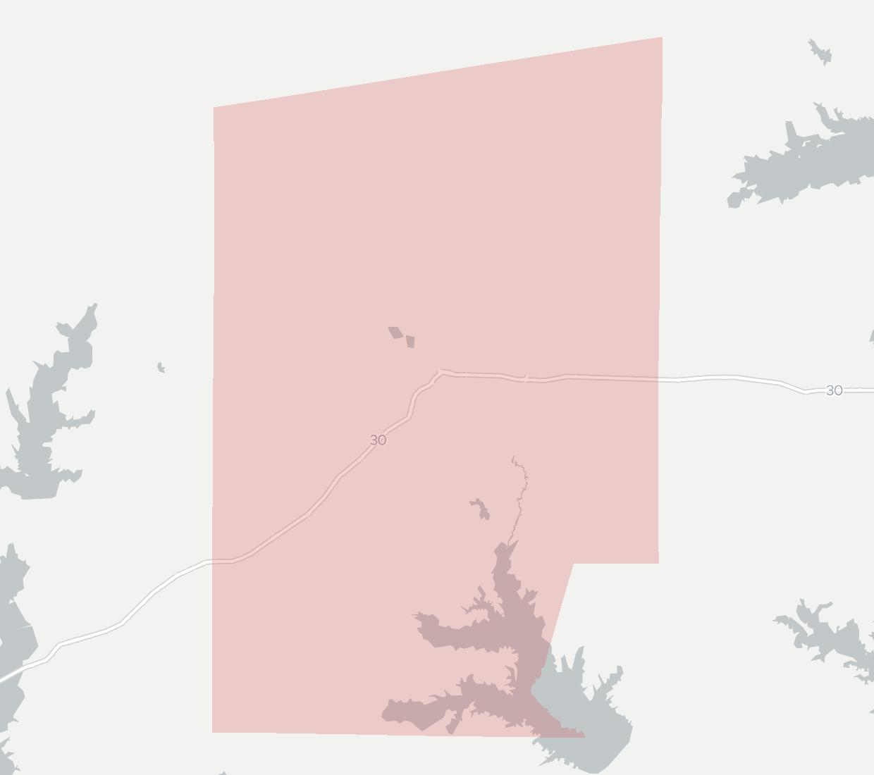 GEUS Availability Map. Click for interactive map.