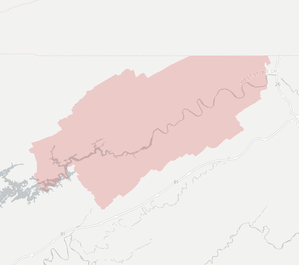 HolstonConnect Availability Map. Click for interactive map.