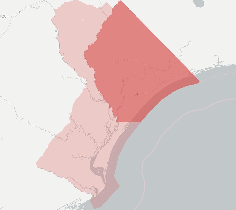 Pawleys Island Zip Code Map.Horry Telephone Cooperative Broadband Provider Broadbandnow