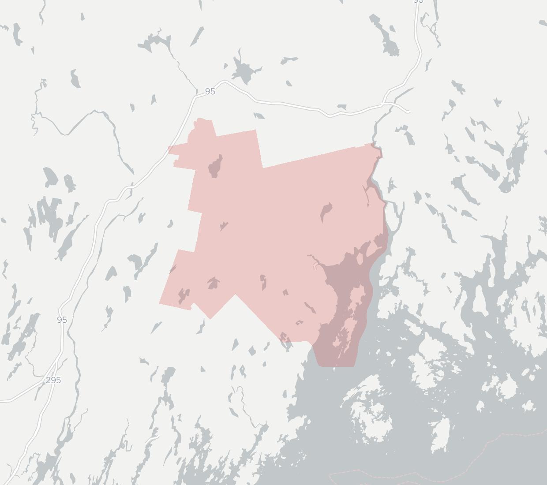 Islesboro Municipal Broadband Availability Map. Click for interactive map.