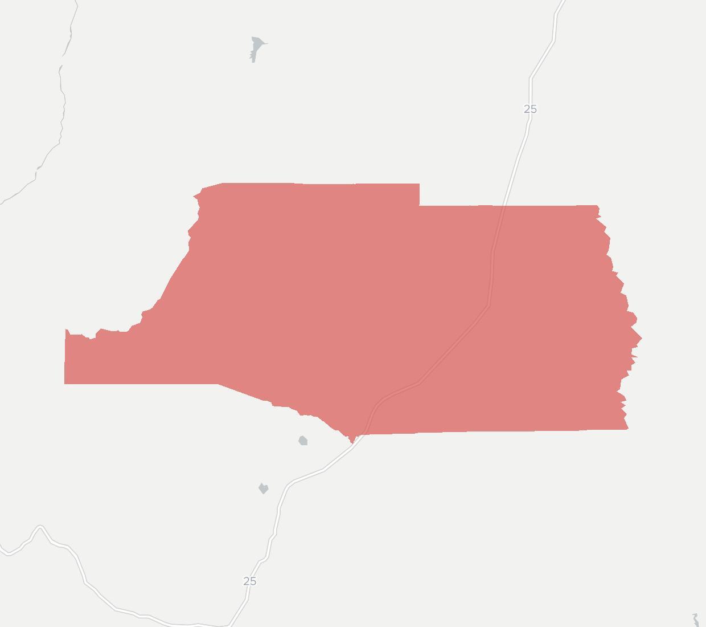 La Jicarita Rural Telephone Cooperative Availability Map. Click for interactive map.
