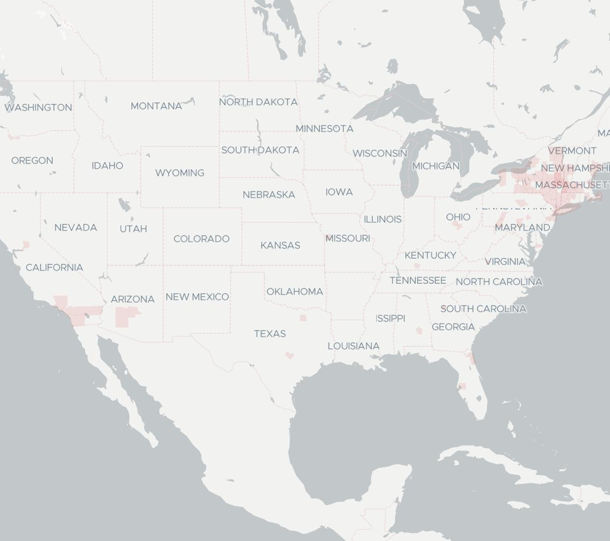 Magna5 Availability Map. Click for interactive map.