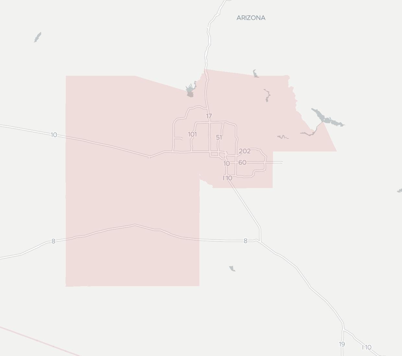 Mojo Broadband Availability Map. Click for interactive map.