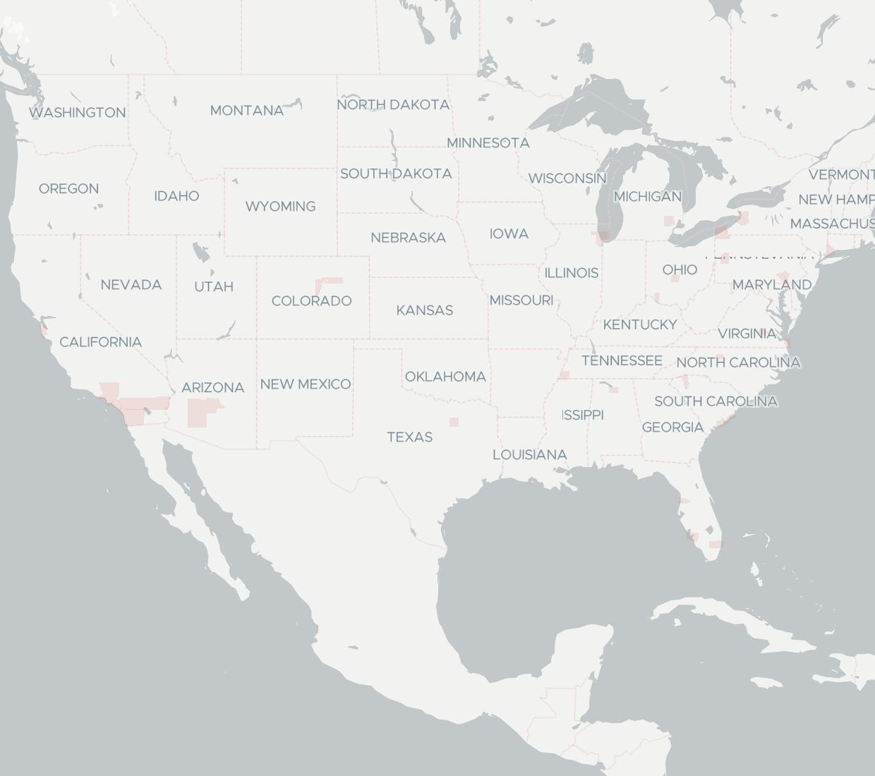 Panterra Availability Map. Click for interactive map.
