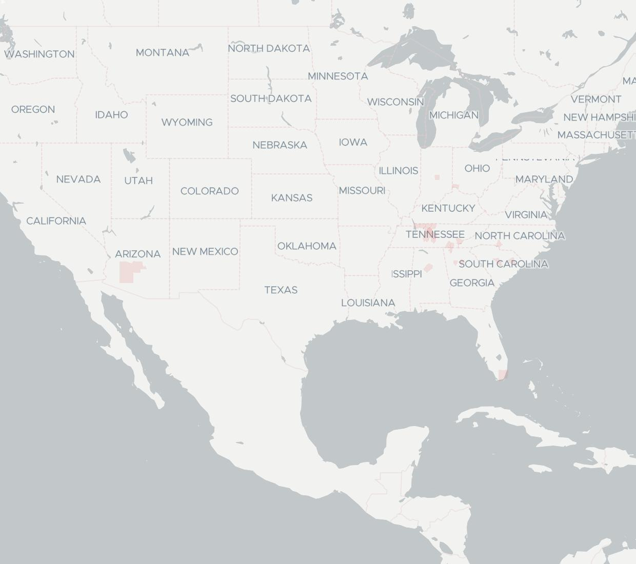 Peace Communications Availability Map. Click for interactive map.